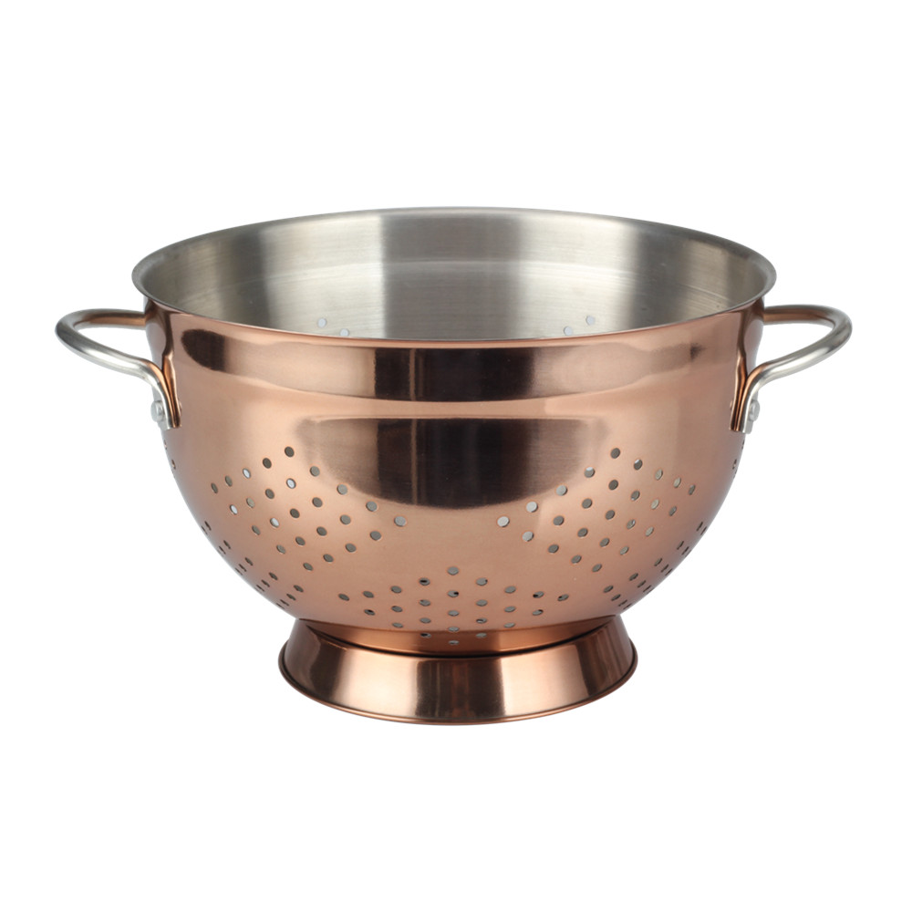 Copper Fruit Or Vegetable Colander