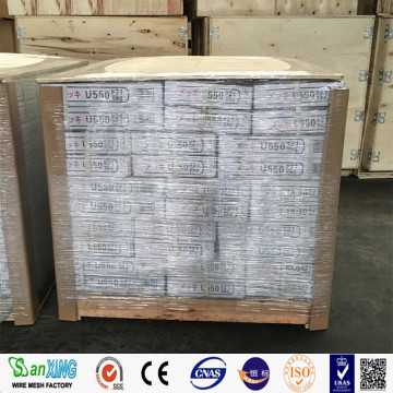 Galvanized Iron U Type Wire For Construction Industry