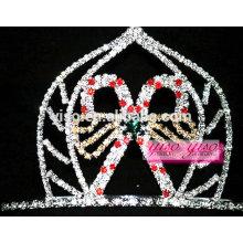 Accesorios de la moda del pelo candy spider candle custom tiara
