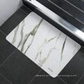 tapete de secagem lavável tapete de banheiro macio