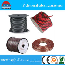 PVC-Isolierung Rot & Schwarz Kupfer verkleidet Aluminium-Leiter-Lautsprecherkabel