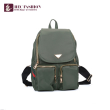 HEC China Factory PU PVC Material School Girl Teenager Backpack