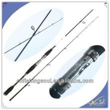 SPR024 fabriqué en Chine fournisseur vente chaude chine produits de la pêche tige de verre poisson filature canne à pêche