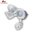 Motion-ativated and Dusk to Dawn sensor tri-head led outdoor security lighting 3x10W