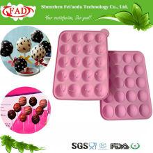 FDA Standard BPA-Libre Grano Alimenticio Lolipop DIY Molde