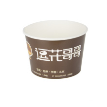 Colorful printing of logo biodegradable disposable 8 oz ice cream cups/bowls for kids