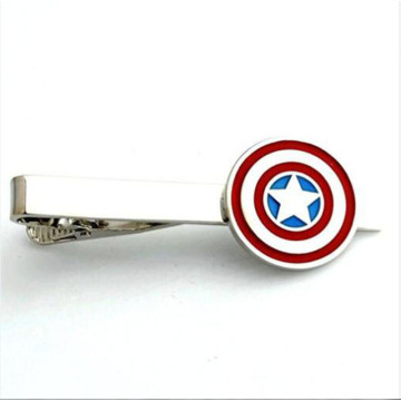 Engravable Captain America Mäns Tie Bar Clip