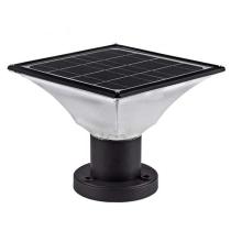luz de pilar de poste de portão solar