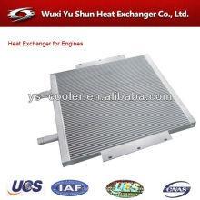 Cargador de ruedas depósito de agua / radiador de tanque de auto / intercambiador de calor refrigerado por aire fabricante