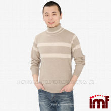 wholesale long sleeve turtle neck cashmere 2014 mens knitted sweater