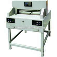 Промышленный автоматический малогабаритный автомат для резки бумаги A3 и A4 / резак для бумаги / бумажная гильотина