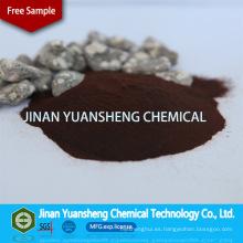 Materia prima de la pulpa de paja Sulfonato de sulfonato de sodio Admixture