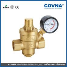 Tipo de latón válvula de alivio de presión ajustable fabricado en China
