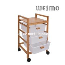 Карбонизированная бамбуковая стойка для ванны (WRW0502A)