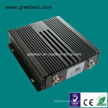 20dBm 900MHz y 1800MHz y 3G tri banda repetidor / amplificador de señal / amplificador de teléfono celular (GW-20R-GDW)