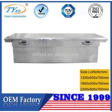 60/70/90 inch best diamond plate steel truck tool box