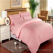 Hotel/Home Colorful Bedding Sets Satin Stripe in Stock (DPF1064)