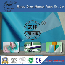 Direct Manufacture PP Non Woven Fabric with PE Film Used for Madical