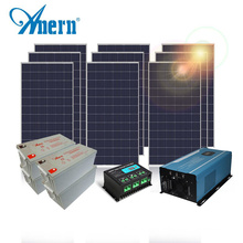 Off grid 20kw mini home solar panel mounting power system