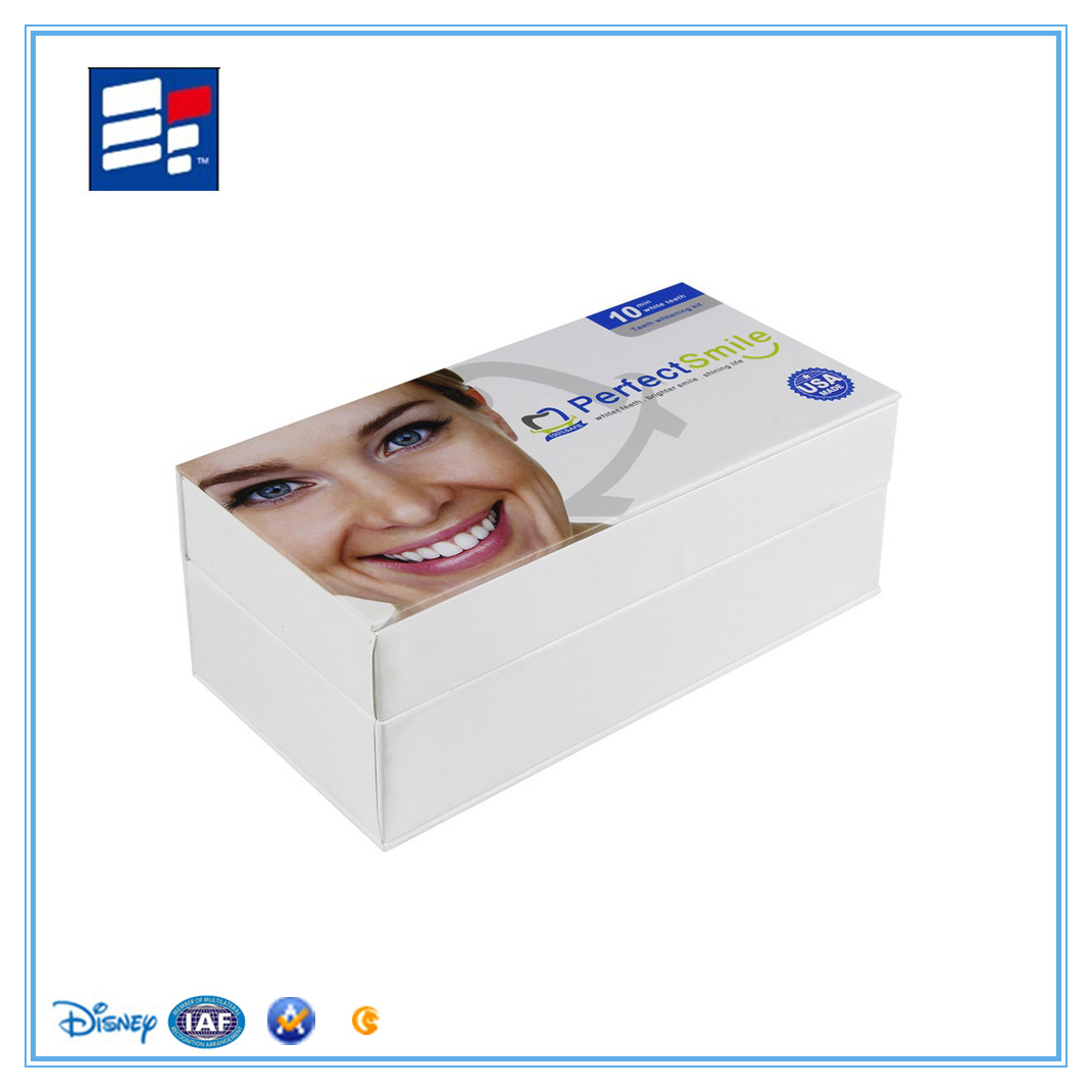 Mouth care products box