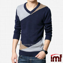 Various Style Cashmere Custom Knitted Sweater For Men