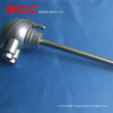 MICC k type thermocouple sensor with protection head
