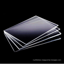 """Wholesale 4*6"""" 6*8'' 1.5mm Shatterproof plexiglass Transparent and clear Possess protective paper"""
