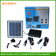 Solar energy home solar lighting systems