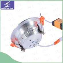 Alta calidad redonda 85-265V 5W 7W 12W 18W LED Downlight
