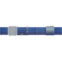 Linha de produção de vidro de isolamento automática vertical de Lbxh2500pw / barra de alumínio do espaçador para o vidro de isolamento