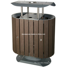 Outdoor Eco-Friendly WPC Garbage Bin (DL21)