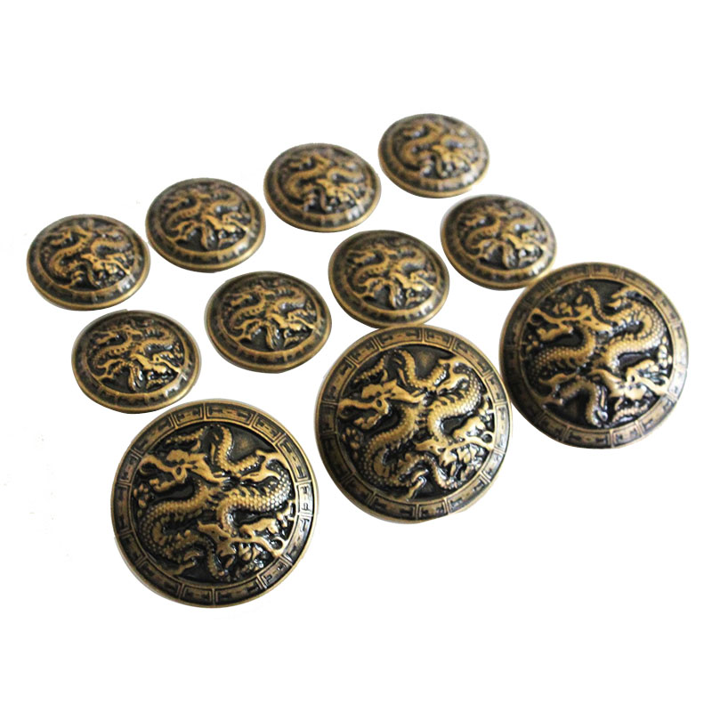 Crown Phoenix Buttons