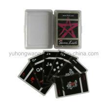 Tarjeta de juego transparente de PVC, juego de mesa