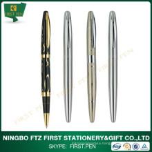 Business Gifts Golden Trims Metal Roller Pen