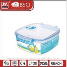 BPA libre vide alimentaire contenant avec couvercle
