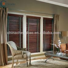 Guangzhou faux madeira persianas cortina de bambu para decoração de casa