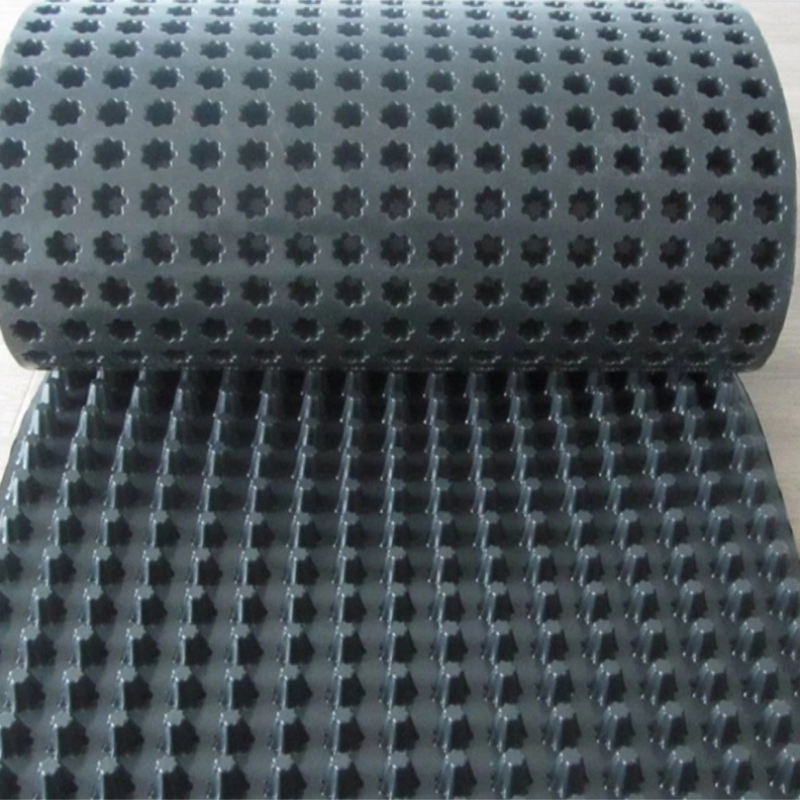 8mm HDPE Bump Type Draining Board لمترو الانفاق