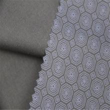 Impressão geométrica de sarja de algodão poliéster