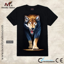 Tatuagem do lobo T100059 projeta o Tshirt