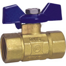 Brass Ball Valve with Aluminum Handle3/4 (YD-1020)