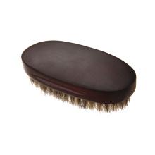 private label barba cabelo javali escova de cerdas para casa