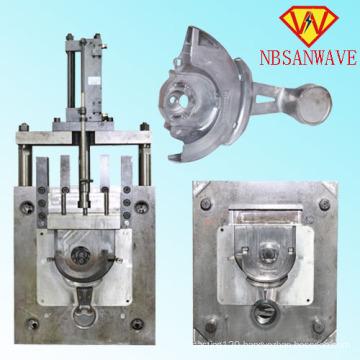 Aluminium High Pressure Die Casting Radiator Mould