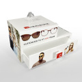 APEX Custom White Eyewear Case Sunglass Display Box للبيع