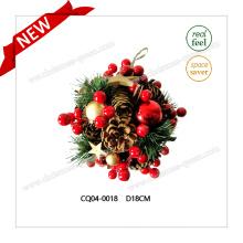 2017 Boule de Noël en plastique de haute qualité pour décoration de mariage de vacances
