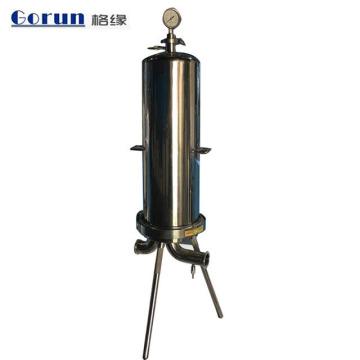 Alojamento de filtro de aço inoxidável do saco Ss304 / 316, alojamento de filtro líquido de aço inoxidável de alta qualidade do saco para o líquido