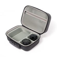 Hard Rolling Tray Weed Stash Box Smell Proof Combo With Lock And Grinder