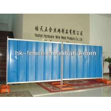 Barreira de via temporária / Painéis de vedação removíveis para construção