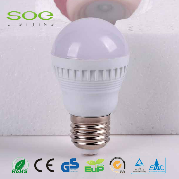 9W Plastic LED light bulbs