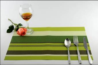 Stripe series of household business dining mat decoration2