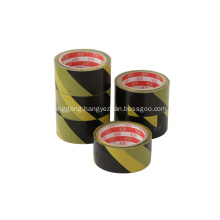 Colored safety vinyl black yellow warning tape